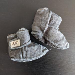 Baby UGG charcoal grey boots